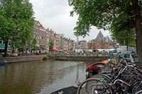 Historical scale in Amsterdam