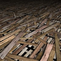Old Wood Floor 1-6