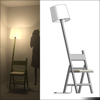 Lamp Floor Chair 00604se
