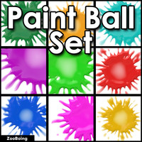 Set 047 - Paintball Splat