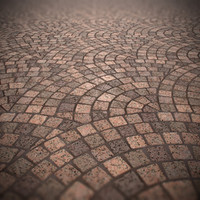 Granite Pavement Textures (Diffuse, Bump, Mix)