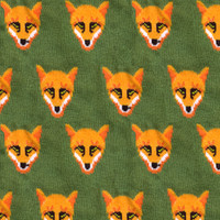 Seamless Knitted Fox