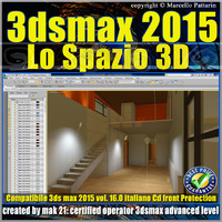 3ds max 2015 Lo Spazio 3D volume 16.0 Italiano