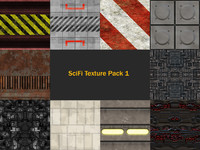 SciFi Texture Pack 1