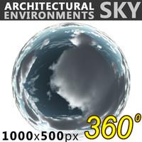 Sky 360 Clouded 009 1000x500
