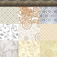 10 floral pattern and wallpaper