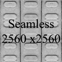 Gray Block Tile Texture version 3