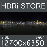 city nighttime HDRi