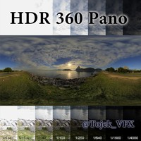 HDR 360 Pano Rio bay sunrise03