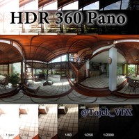 HDR 360 Pano Interior house modern