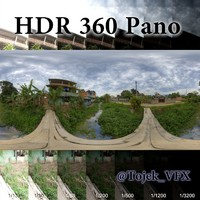 HDR 360 Pano Rio country river