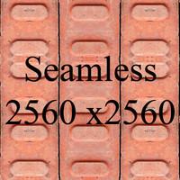 Red Block tile version 3