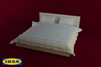 ikea malm bed 3ds