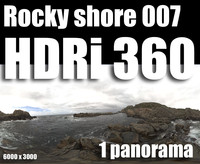 Hdr Rocky shore 007