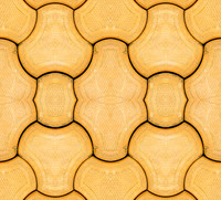 Yellow Block Tile Texture 01