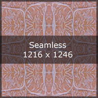 Brown Block tile texture map
