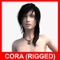 Cora (Female Rigged)