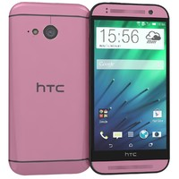 htc mini 2 pink 3d 3ds