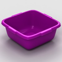 plastic bowl 3d model