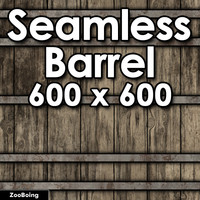 Wood 057 - Barrel