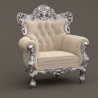3d model fabulous armchair