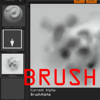 brush concrete