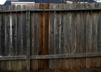 Apartment Wooden Fence