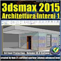 Video Corso 3ds max 2015 Architettura Interni 1 Volume 30_cd front