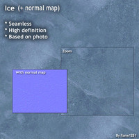 Ice (+ normal map)