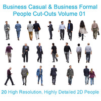 Business Casual and Business Formal People Vol.01