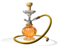 3d hookah smoking pipe