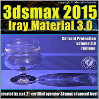 3ds max 2015 Iray Material Volume 3.0 cd front