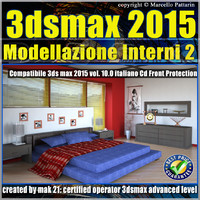 3ds max 2015 Modellazione Interni 2_v.10_cd front