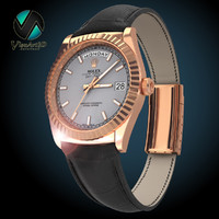 3d model of rolex watches