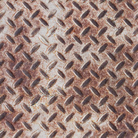 Rusty Diamond Plate Texture