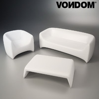 3d outdoor furniture vondom model