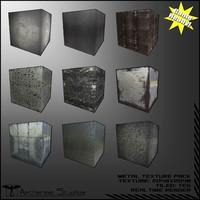 20 Metal Textures