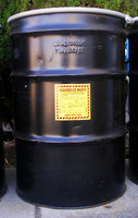Hazardous Waste Barrel