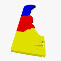 County Map - Delaware