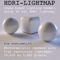 HDRI studio basic 011