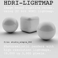 HDRI studio simple 002
