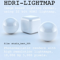 HDRI studio tent 005