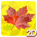 2D Leaves Animation Loops