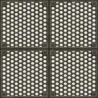 Metal Floor 3 | Tileable | 2048px