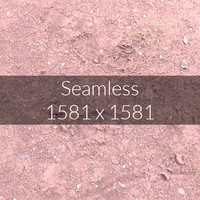 Red Soil Texture Map 09