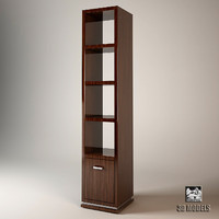 mobilidea truman bookcase 3d model