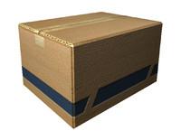3d model of carton box