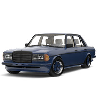 mercedes-benz w123 amg edition 3d max