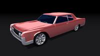 continental 1964 3d model