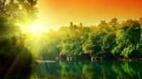 Amazing nature Sunrise